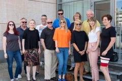 Gruppenfoto der Grünen-Stadtratsfraktion