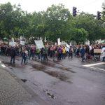 08.07.2014   Demonstration gegen die Sparpläne der Landesregierung_2