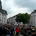 08.07.2014   Demonstration gegen die Sparpläne der Landesregierung_7