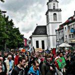 08.07.2014   Demonstration gegen die Sparpläne der Landesregierung_8
