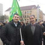 15.01.2015 | Demo des Senats der Universität des Saarlandes_2