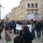 15.01.2015 | Demo des Senats der Universität des Saarlandes_5